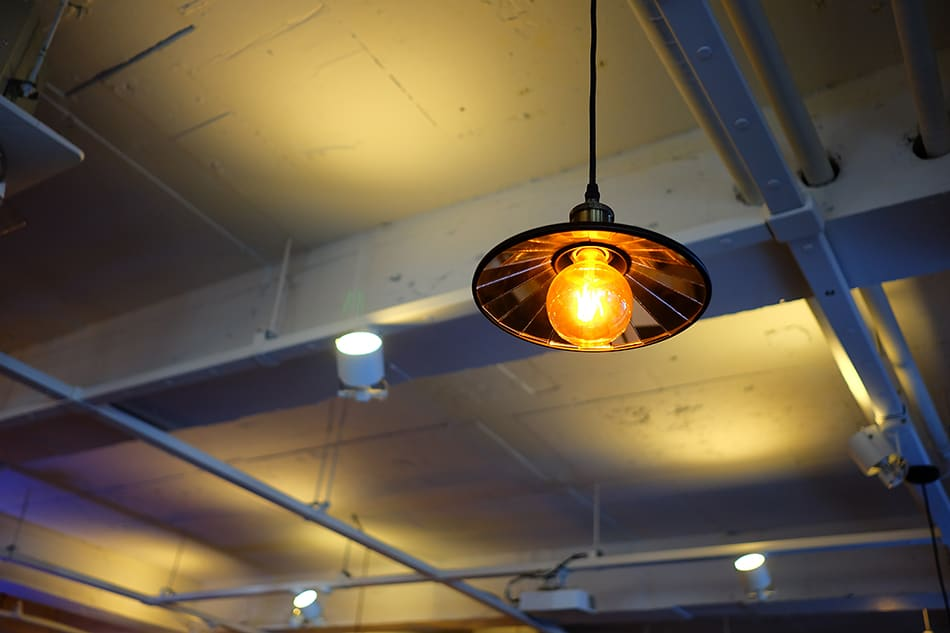 Exposed Bulb Pendant