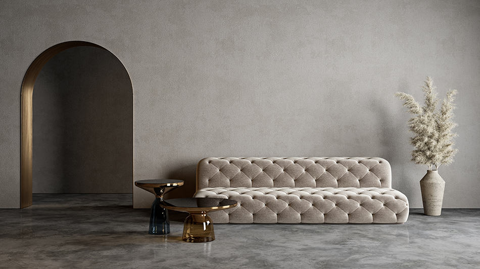 Minimalist Low Modern Sofa