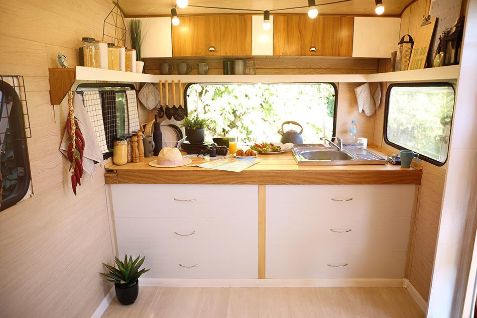 Average Kitchen Size in A Trailer Home
