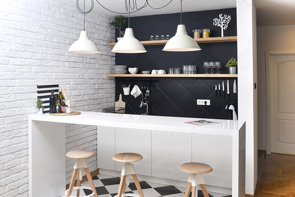 Average Kitchen Size in an Apartment