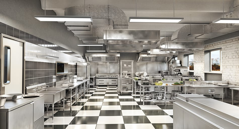 Average Size of a Commercial Kitchen