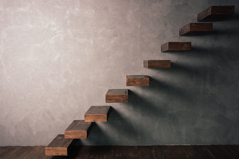 Cantilever staircases