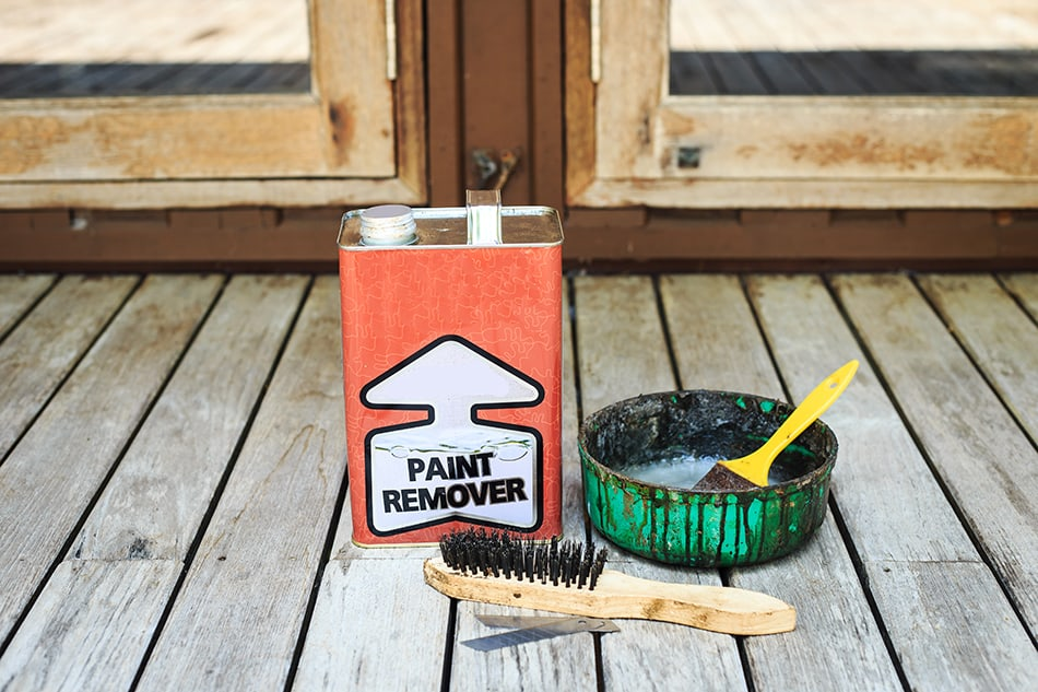 Use a Commercial Paint Remover or Thinner