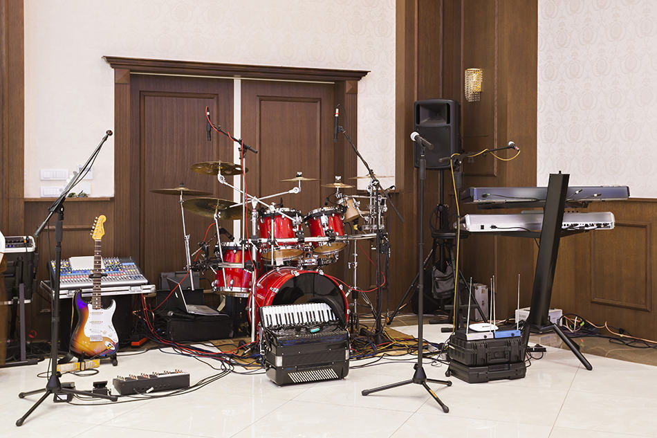 Fill the room with Musical Instruments