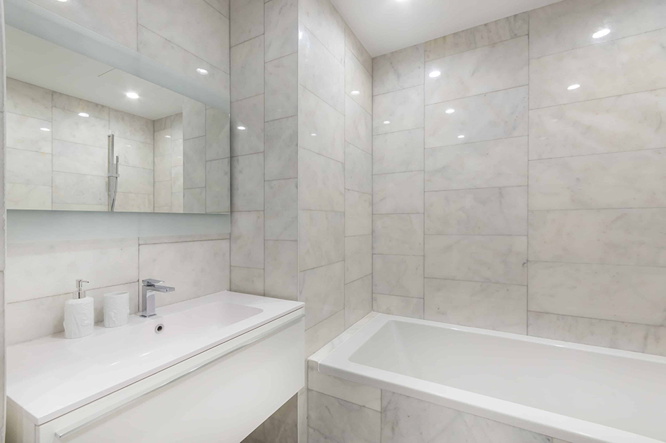 Have Tiles on Your Bathroom Wall