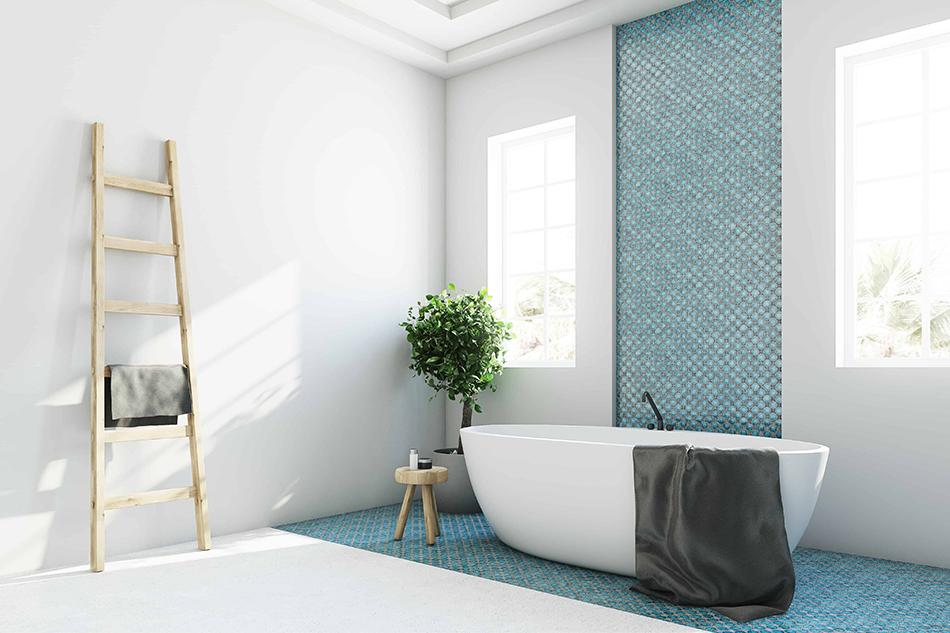Pros of Having a Half-Tiled Bathroom