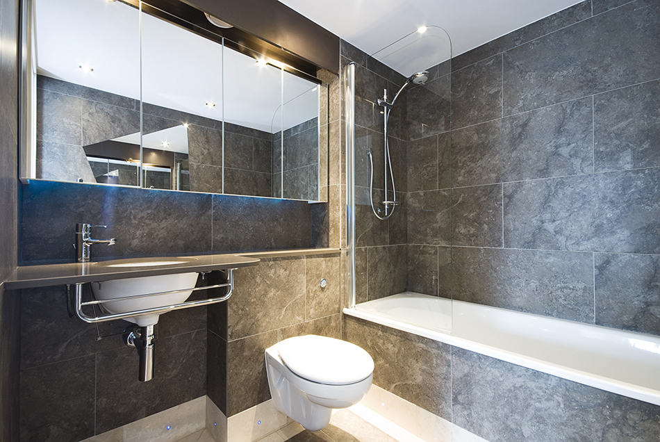 Opt for Large - Format Tiles