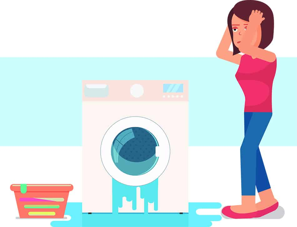 Overflowing Washers