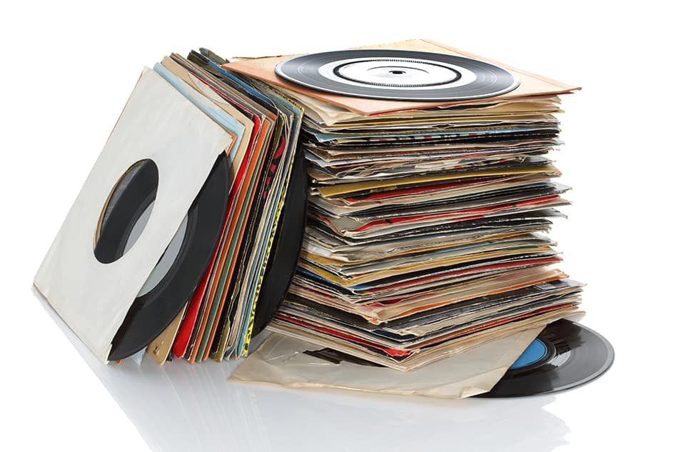 Stack up your favorite albums
