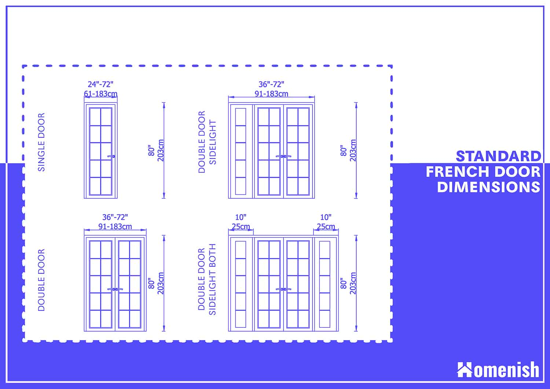 Standard French Door Size