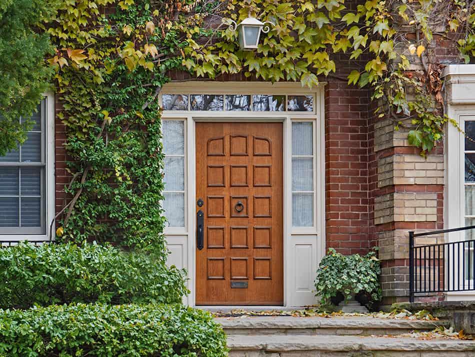 Transom Entrance Door