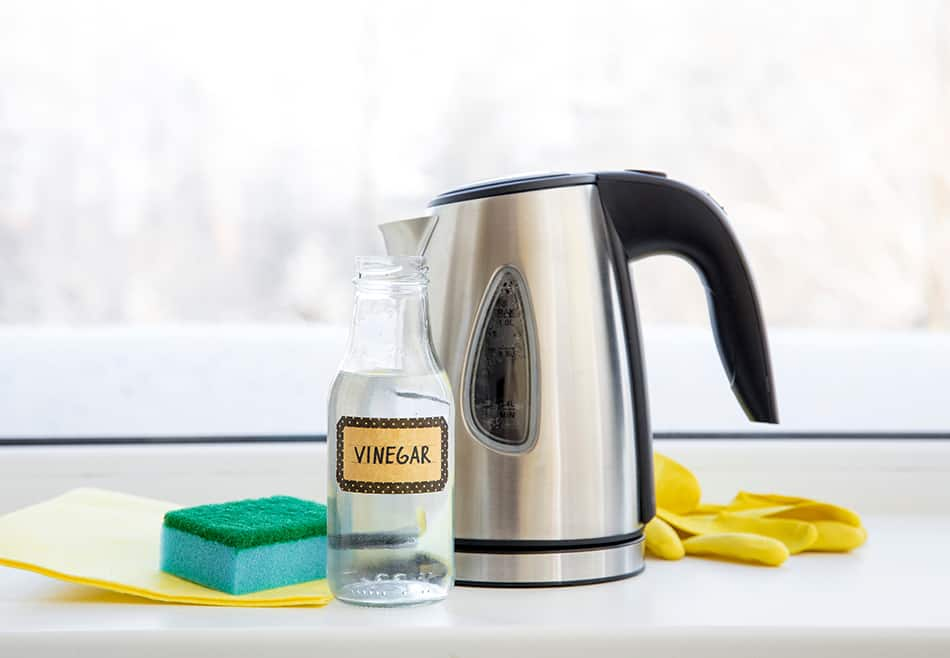 Mix Equal Parts Water and Vinegar