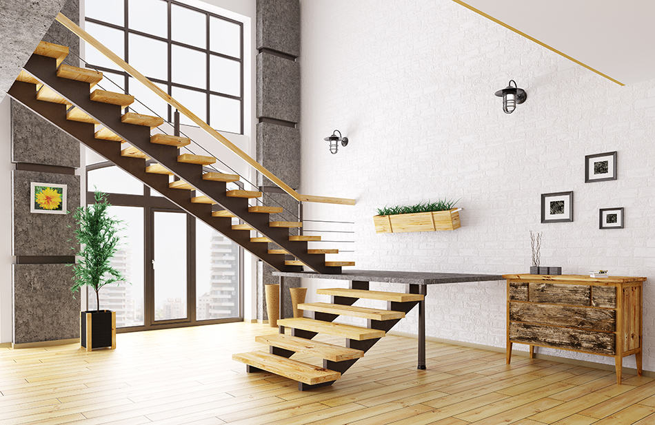 What's a Floating Staircase?