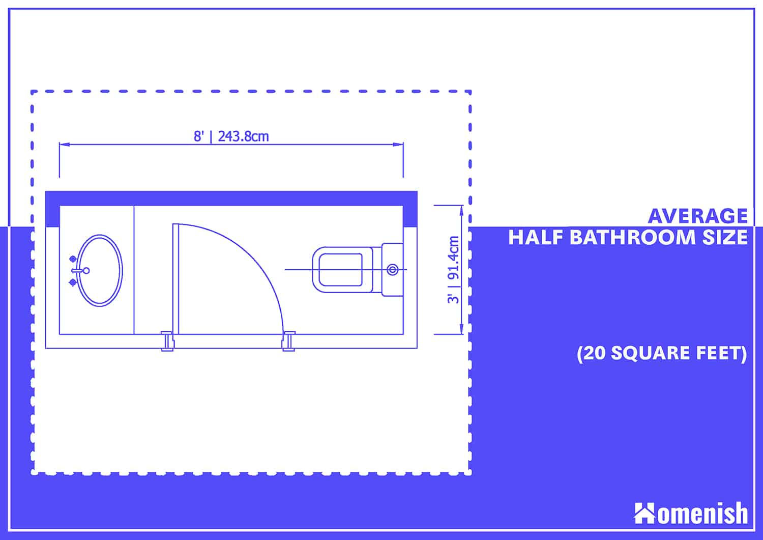Power Room Dimensions