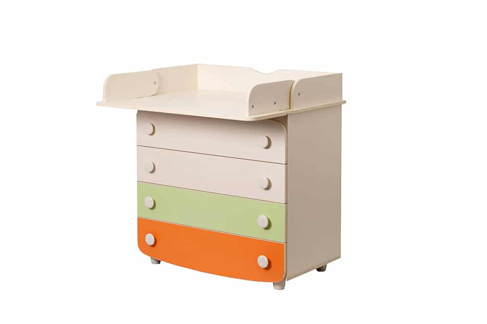 Changing Table on Dresser