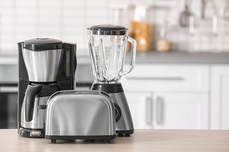 Coffee Makers, Toasters, and Blenders