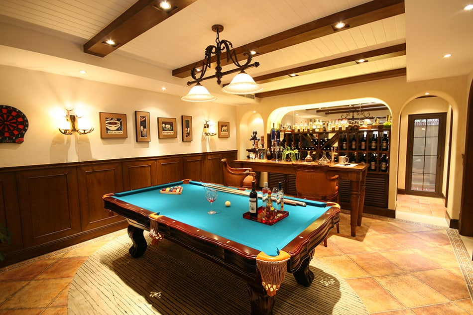 Every Billiard Room Needs a Bar
