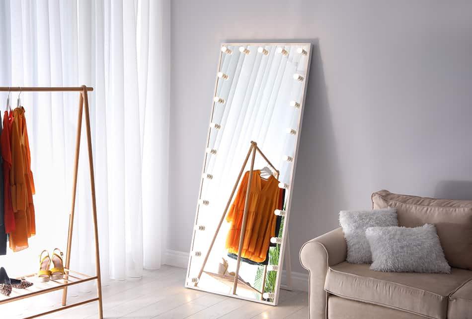 Freestanding Full-Length Mirror