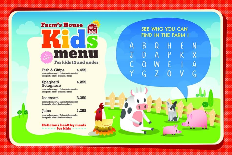 Kids' Placemats