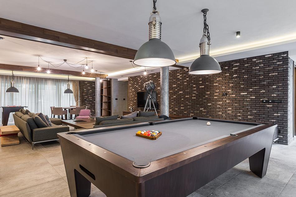 Place Your Pool Table in Living Room