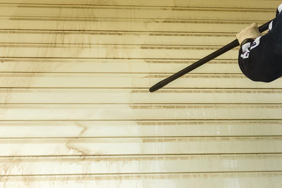 Remove Deck Stain Off Vinyl Siding