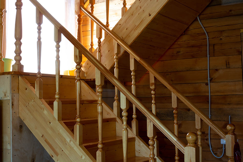 Bespoke Rustic Style Staircase Design