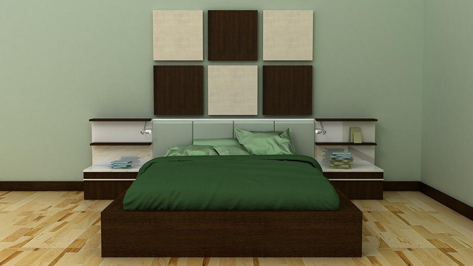 Built-In Bedside Tables