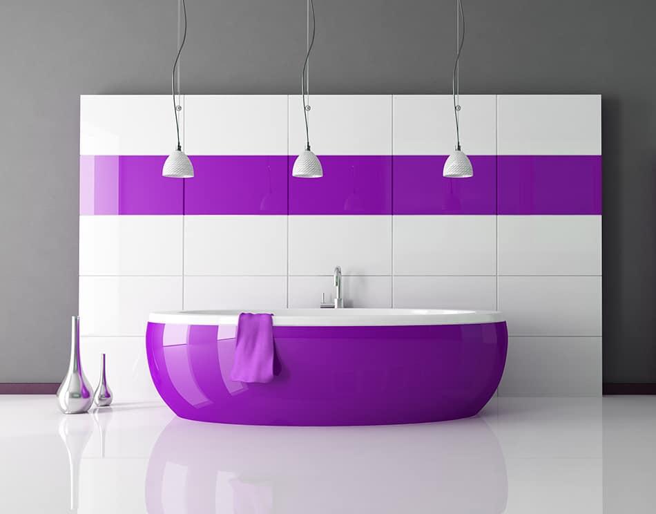 Choose Purple Vanities for Instant Color
