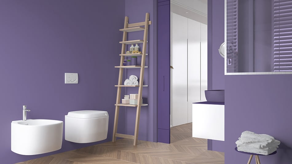 Go for a Refreshing Shade of Purple