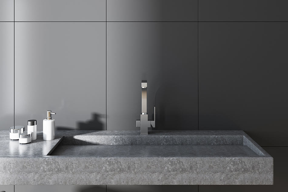 Integrated Trough Sink
