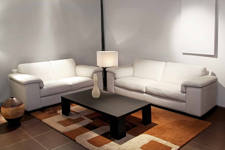 Joining Two Sofas at a Right Angle