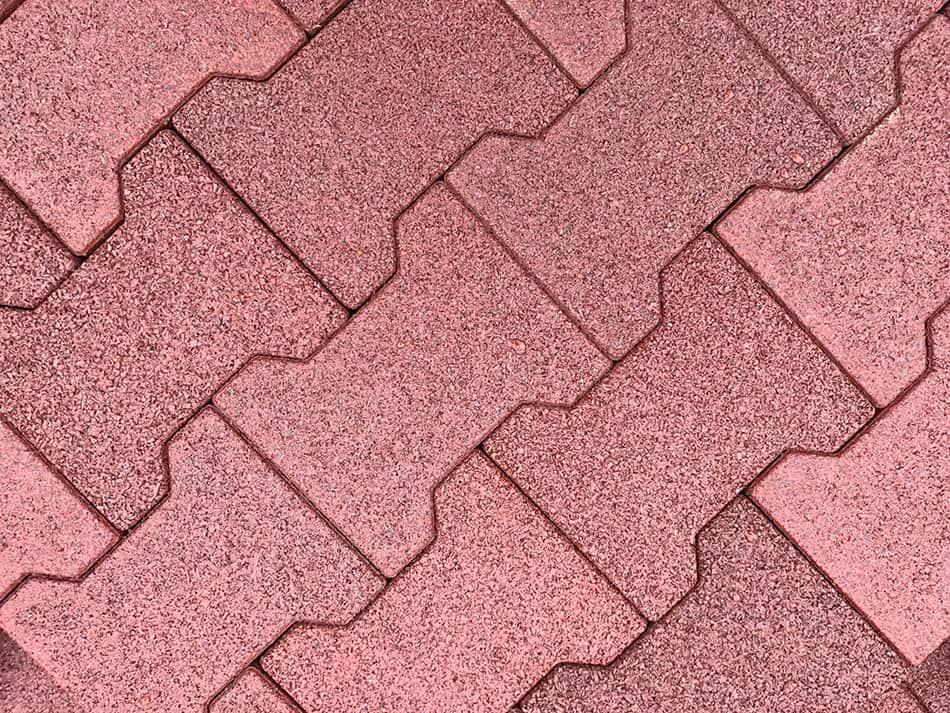 Rubber Paver Tiles