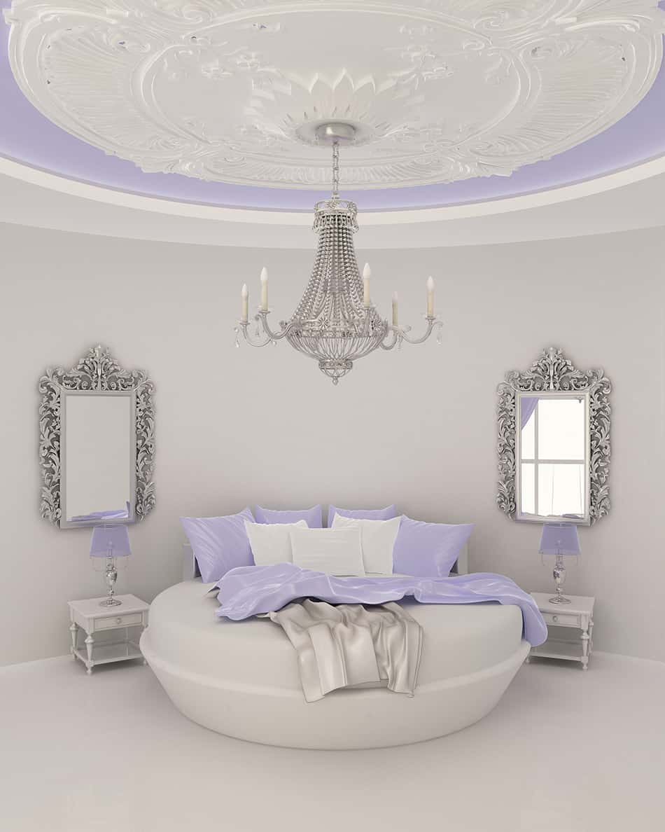 Shiny and Polished Silver Decor