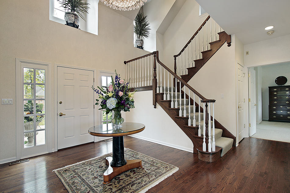 Staircase as the Focal Feature
