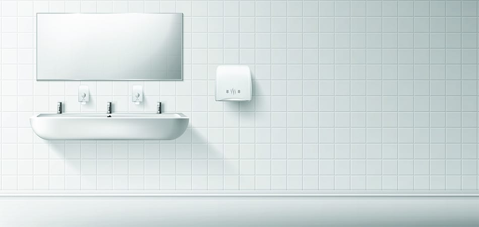 Wall-Mounted Trough Sink