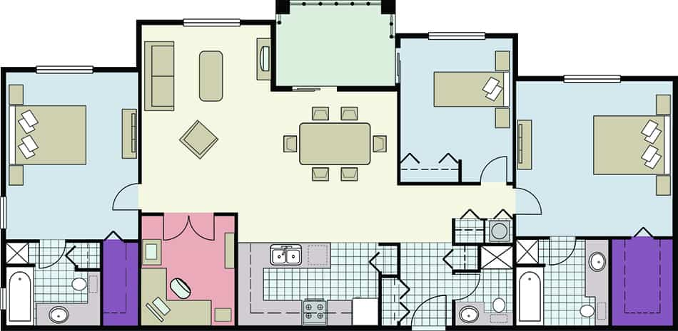 What Is a Split Bedroom?