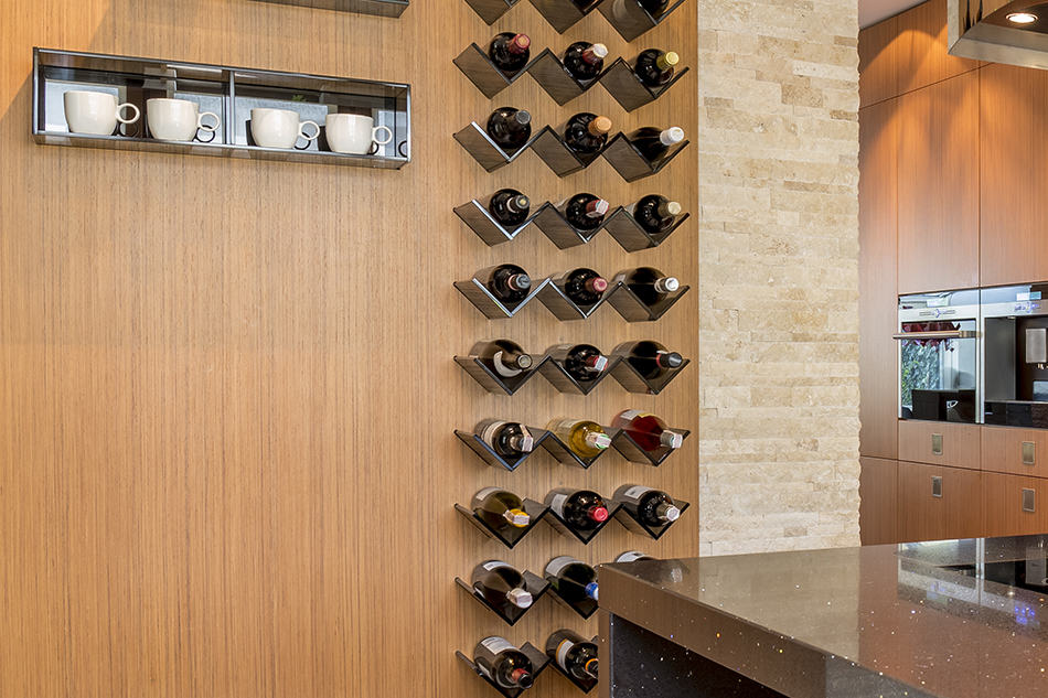 Best Angle for Storing Wine