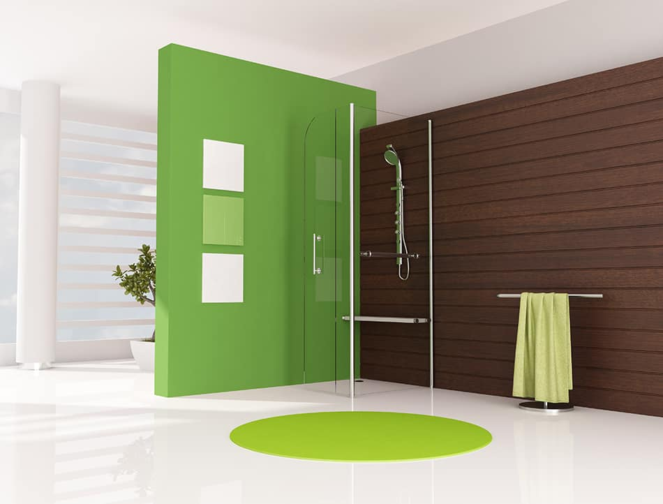 Combine Wooden Wall Panels, Tiles and Fiberglass