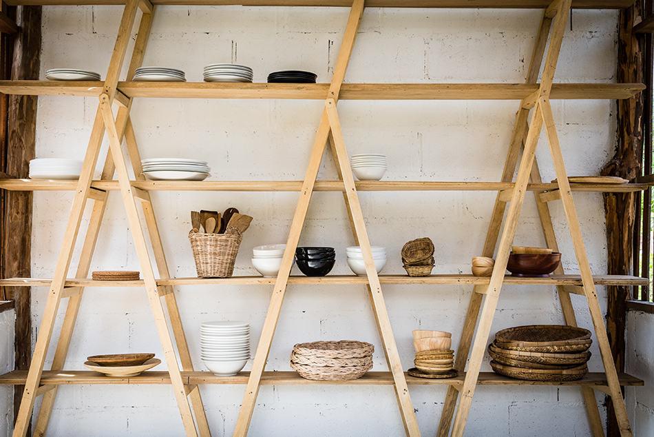 Open-Shelf Pantry