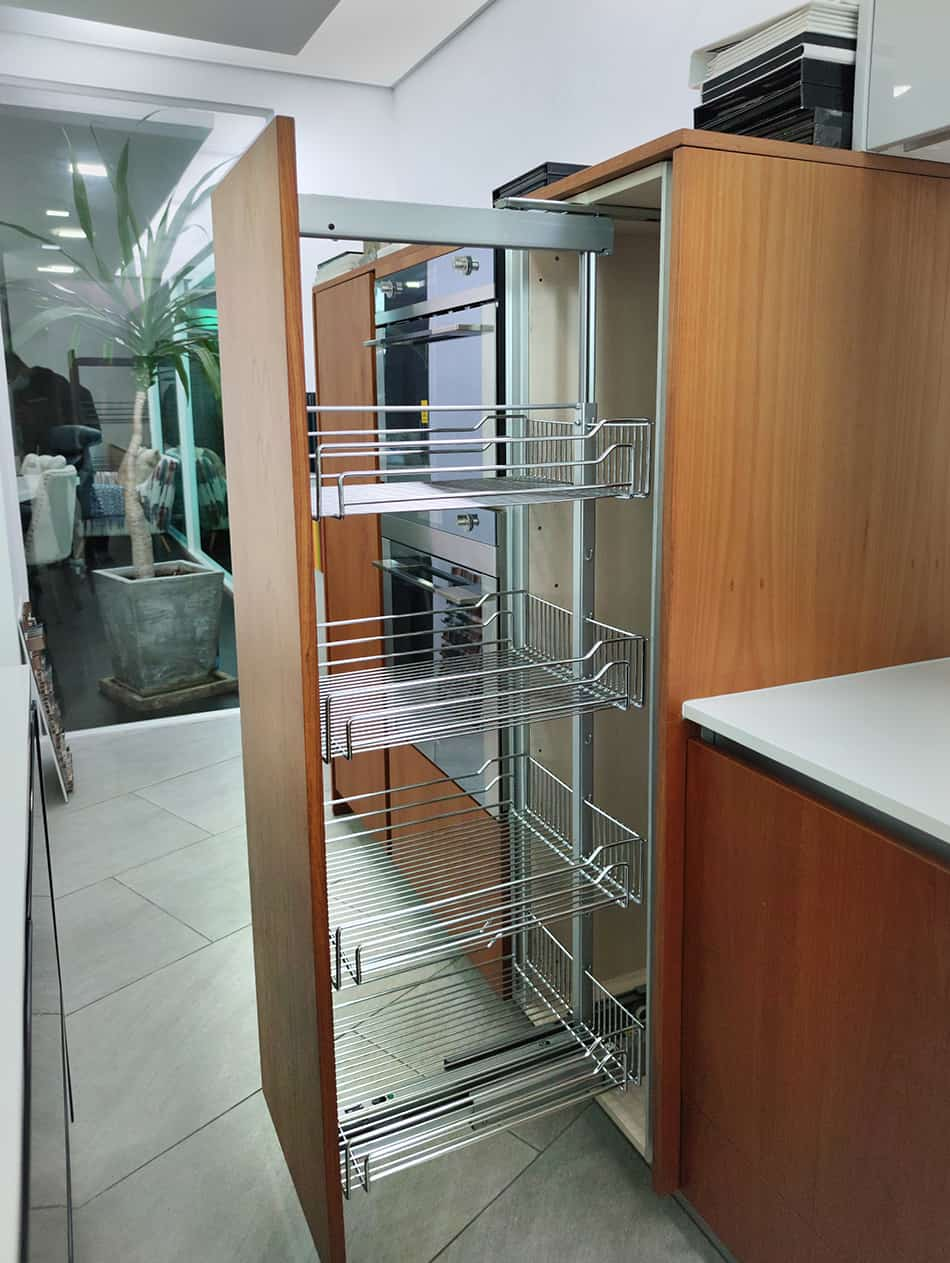 Pull-Out Contemporary Pantries