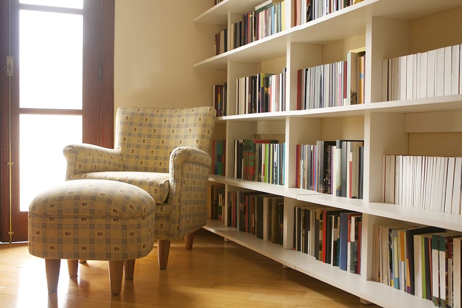 Create an Impressive Library and Reading Room
