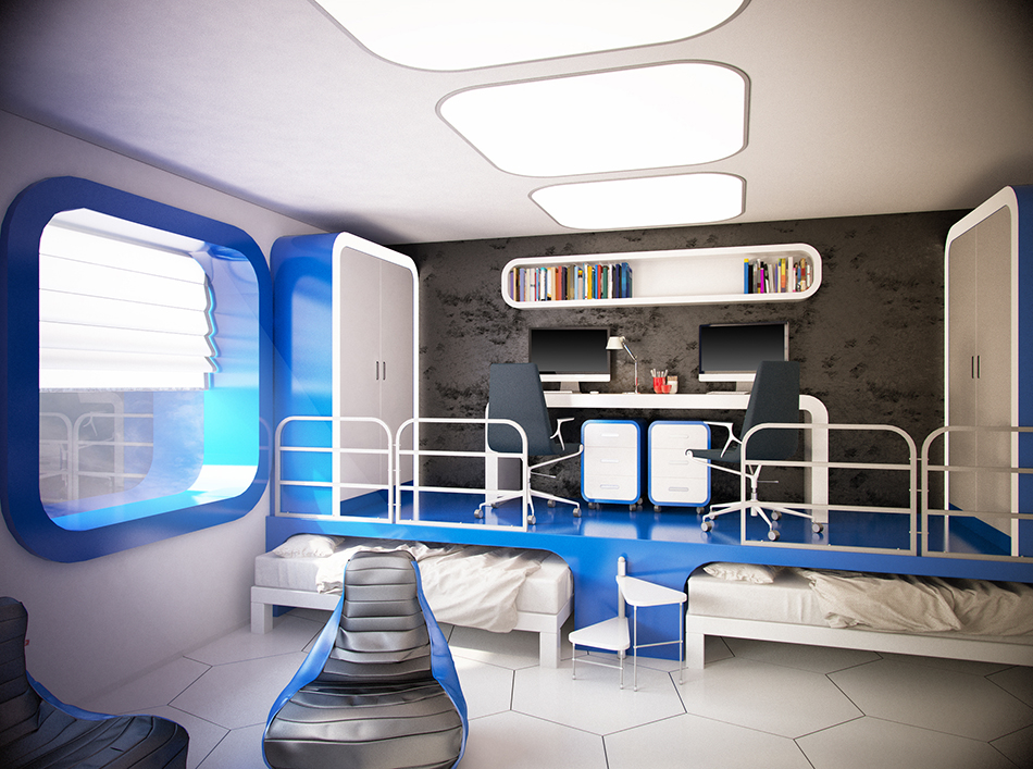 Retro Space Themed Furniture