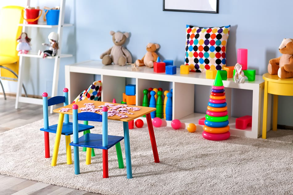Turn Your Spare Room into a Kids Playroom
