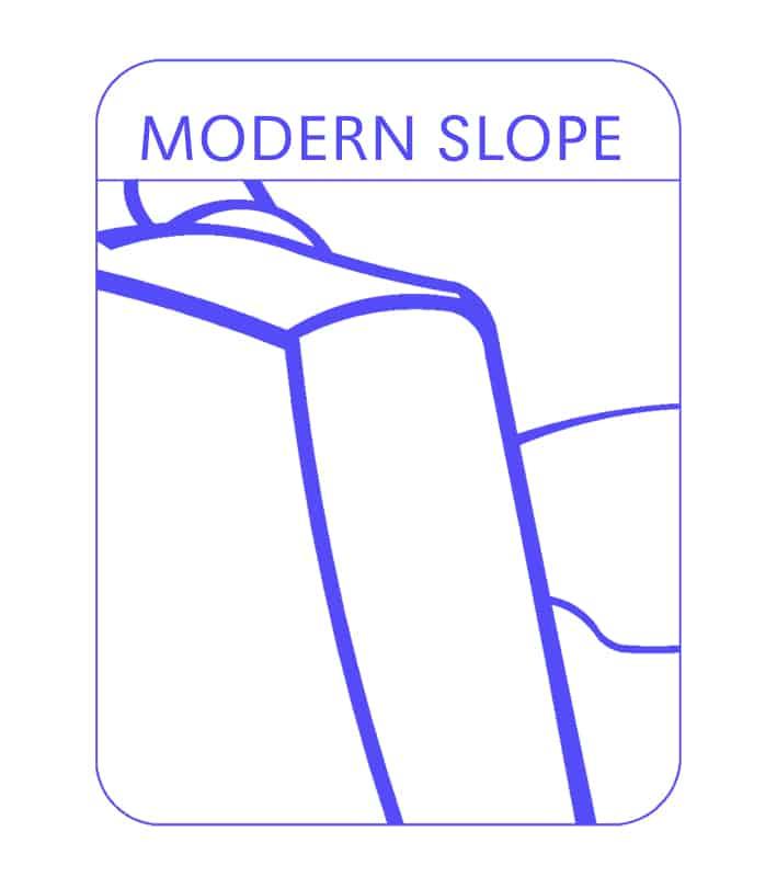 Modern Slope Sofa Arm