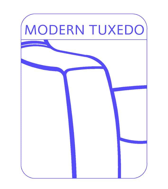 Modern Tuxedo Sofa Arm