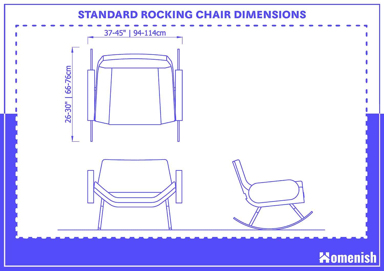 Standard Rocking Chair Dimensions