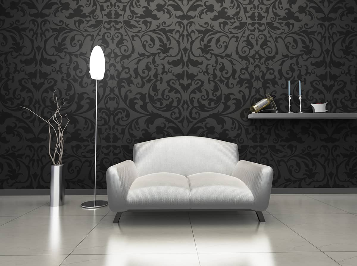 Combine Silvery Tones with Charcoal