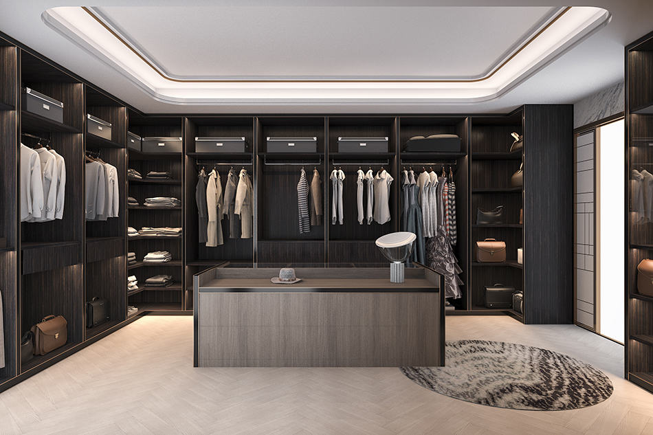 Go Dark For Large Walk-in Closets