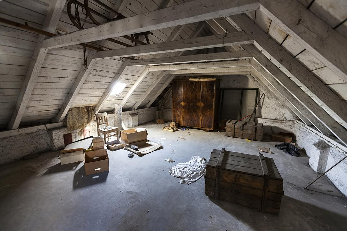 Partially Finished Attic