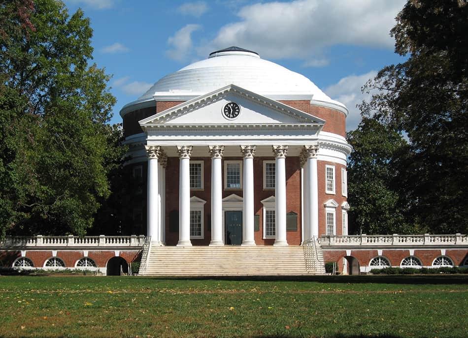The Rotunda at the University of Virginia, USA